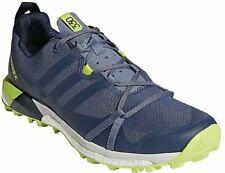 Mens Terrex Agravic Running Shoe, Adidas, 12 Steel/Raw Steel/Collegiate