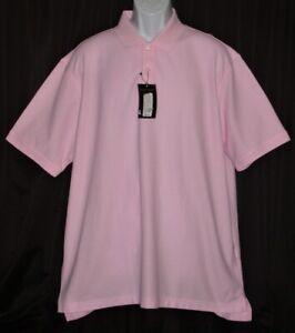 New ROUNDTREE & YORKE Gold Label Mens XL S/S Pima Cotton Polo Shirt NWT