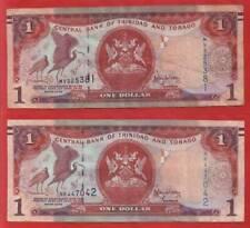 2x 1 Trinidad und Tobago Dollar * 2006 * MV325381 + NK447042