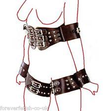 Bondage Body Restraint Harness, Arm, Hand / Wrist, Thigh & Chest Tied Clubwear