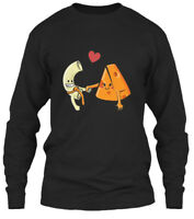 Macaroni And Cheese Best Friends Forever Gildan Long Sleeve Tee T-Shirt