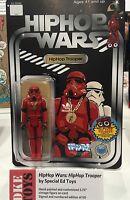 NYCC 2016 Exclusive DKE  Hip Hop Trooper Star Wars Hasbro Kenner storm vintage