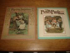 My Picture Puzzle Book & Playtime surprises  by Ernest Nister,H/B/S 1985 & 1991
