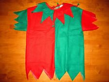 RUBIES ADULT HAPPY ELF ON A SHELF SANTA'S LITTLE HELPER TUNIC COSTUME ONE SIZE