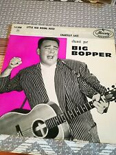 EP BIG BOPPER MADE IN FRANCE MERCURY MEP 14206 VERY RARE