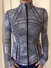 Lululemon Size 4 Define Jacket Black White LSJA Luon Zip Up LS NWT Forme