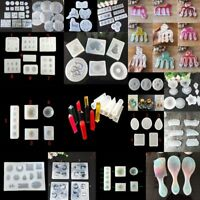 DIY Clear Silicone Mold Making Jewelry Pendant Casting Resin Mould Craft Tool