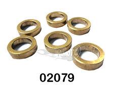 02079 Boccole ottone 15x10x4 6pz boccole ricambi modellismo himoto HSP RKO