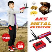 AKS 1200M Metal Detector Locator Silver Gold Diamond Treasure Hunter Handhold