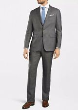 NWT Peter Millar Collection Super 150s Perfect Perennial Suit 44R 38W Gray $1198