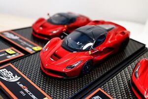 【SALE】BBR 1:43 Exclusive Ferrari Laferrari F1 2008 Metallic Red /NO 1:18 MR ENZO