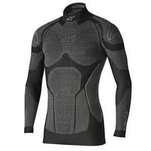 Alpinestars Ride Tech Winter Thermal Motorcycle Base Layer Motorbike Top Shirt
