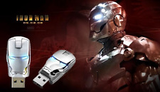 1pcs USB 2.0 unique iron man model 16G Enough Memory Stick Flash pen Drive BA14