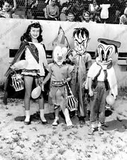 8x10 Print Children Series Americana Kids Halloween Costumes 1955 #889237FF