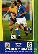 Länderspiel 04.06.1995 Schweden - Brasilien, UMBRO Cup