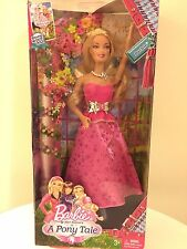 New In Box Barbie & Sisters in A Pony Tale Doll 🎀
