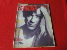 Vintage Rock N Roll Magazine East Coast Rocker 1986 Iggy Pop Third World P22