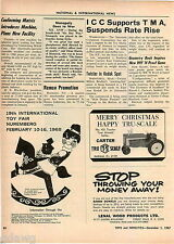 1967 ADVERT Carter Tru Scale Toy Toys Farm Tractor Rockford Ill
