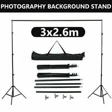 8x10 FT Photography Studio Background Backdrop Support System Set Stand Crossbar