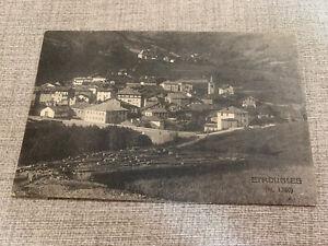 ETROUBLES Aosta Viaggiata 1922