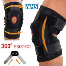 Knee Brace Support Leg Patella Meniscus Muscle Arthritis Pain Relief PAD Steel B