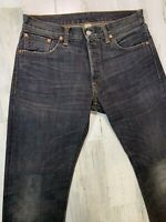 RRL Japan Woven Selvedge Jeans 30x31 (measured) Low Straight Black Wash