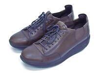 MBT TARIKI Men's Brown Leather Physiological Toning Comfort Walking Shoes US 12