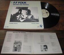 F.F Folk - Derrier les Fumees FRENCH ACID FOLK LP 1973 Alvares Lasry J.Top Magma