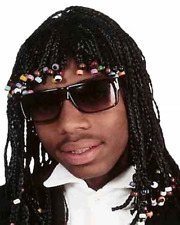 Rick James Wig Dreadlocks Super Freak Black Cornrow Dave Chappelle Show Costume