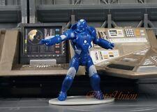 Marvel Figure Avengers Iron Man Deep Sea Armor HAMMER HEAD CAKE TOPPER K1119_F