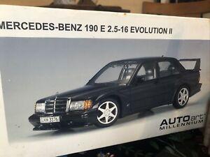 Autoart 1:18 MercedesBenz 190 E 2.5 1.6 Evolution II