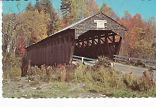 Swiftwater Covered Bridge Bath New Hampshire USA Postcard Unused
