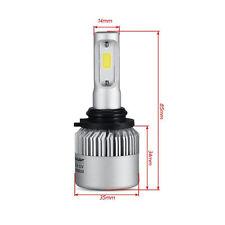 2 LAMPADINE A LED H7   PER AUTO 16000 LM 36w 8000 LM A BULBO
