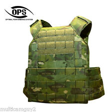 OPS / UR-TACTICAL EASY PLATE CARRIER IN CRYE MULTICAM TROPIC, SIZE- MEDIUM