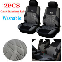 Universal Embroidery Car Seat Covers Set Car Interior Accessories Seat Covers