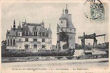 BF9441 chateau de chenonceaux le donjonle pont levis france       France