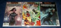 WAR of the REALMS AGENTS of ATLAS #1 2 3 variant 2nd print set Jee-Hyung Lee NM