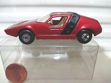 Lesney Matchbox MB41 Red Siva Spyder Black Strap 4Spoke Whls C9 MINT +Nu PVC Box