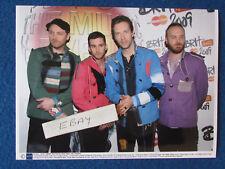 "Original Press Photo - 8""x6"" - Coldplay - 2009 - C"