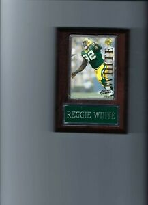 REGGIE WHITE PLAQUE GREEN BAY PACKERS FOOTBALL NFL   C2