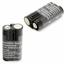2x Battery for KAA2HR Kodak EasyShare C603 C613 C643 C653 C663 C703 C713 Zoom