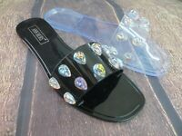 "Jelly Sandal ""CONYERS"" Women's Slide Flat Flip Flop  - Ann More"