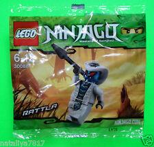 LEGO NINJAGO FIGUREN ### RATTLA - COBRA IM POLYBAG 30088 NEU - NEW ### =TOP