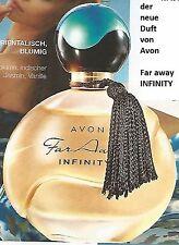 FAR AWAY INFINITY  -   Eau de Parfum   SPRAY  -  Avon  -- NEU OVP --   in Folie