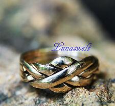 Anillo de bronce puzzle-ring 4 piezas-Ring