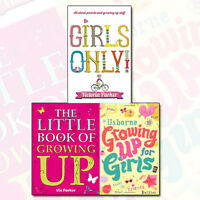 Girls Growing Up 3 Books Collection Set, (The Little Book of Growing up)