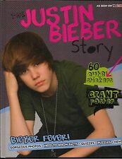 THE JUSTIN BIEBER STORY 2010 PARRAGON BOOKS by LISA CLARK HARCOVER NICE!