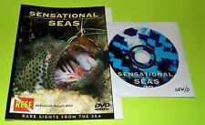 Sensational Seas: Rare Sights from the Sea (DVD DISC & COVER ART ONLY, NO CASE)