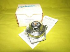 Vintage AIRGUIDE Marine Compass, Box & Papers, Never Used, NOS Airguide Compass