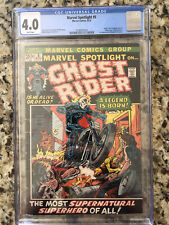 Marvel Spotlight 5 CGC 4.0 First Appearance Ghost Rider